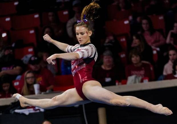 OU women's gymnastics: Quick adjustments helps Sooners stay No. 1