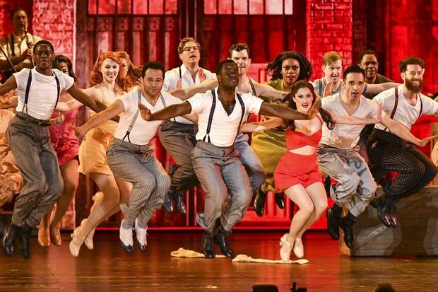 "The cast of ""Kiss Me, Kate"" performs at the 73rd annual Tony Awards at Radio City Music Hall on Sunday, June 9, 2019, in New York. (Photo by Charles Sykes/Invision/AP) at the 73rd annual Tony Awards at Radio City Music Hall on Sunday, June 9, 2019, in New York. [Photo by Charles Sykes/Invision/AP]"