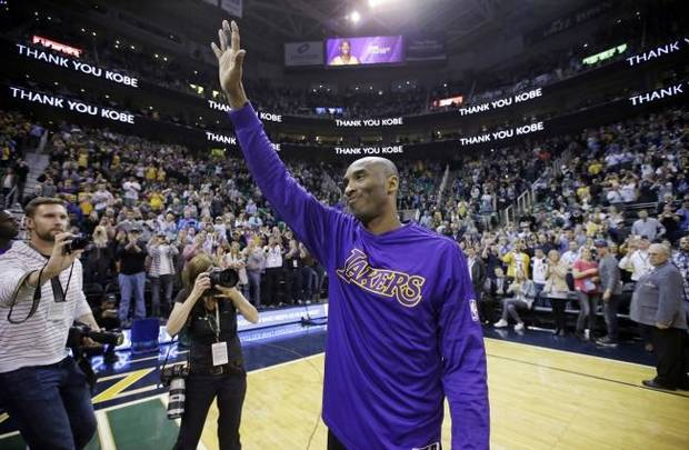 Berry Tramel: Flair describes the life and times of the late Laker superstar Kobe Bryant