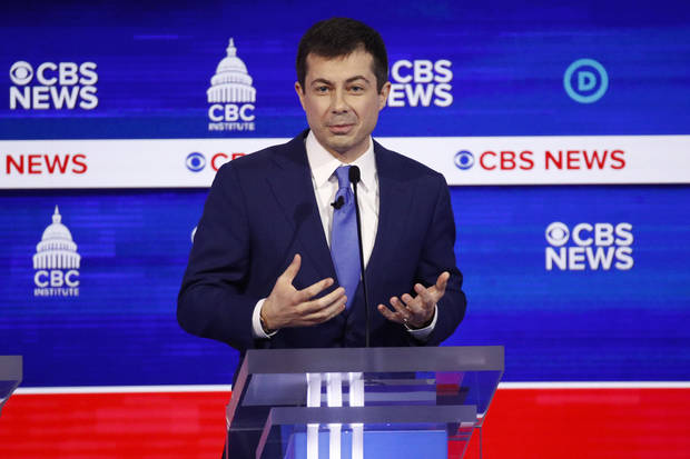 The Latest: Buttigieg sick, cancels several Florida events