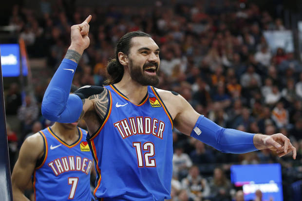Thunder: Steven Adams took a charge, and he wants you to know it