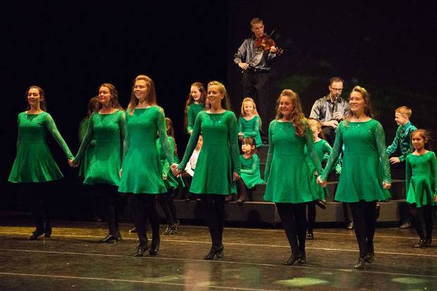 """Celtic Throne — The Royal Journey of Irish Dance,"" a new dance production from the Herbert W. Armstrong College and Armstrong Dance, features music by Golden Globe-nominated, Oklahoma-based composer Brian Byrne, who is originally from Ireland [Photo provided]"