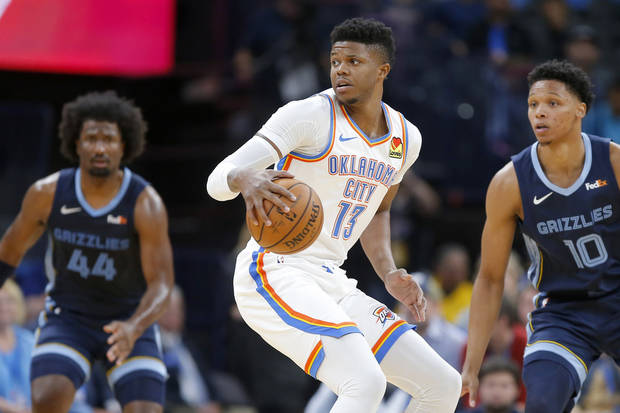 Report: Thunder trades Justin Patton to Mavericks for Isaiah Roby