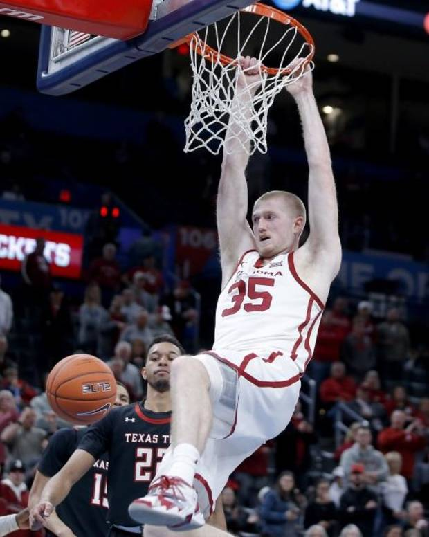 'Every game's huge': Sooners get much-needed victory over Texas Tech