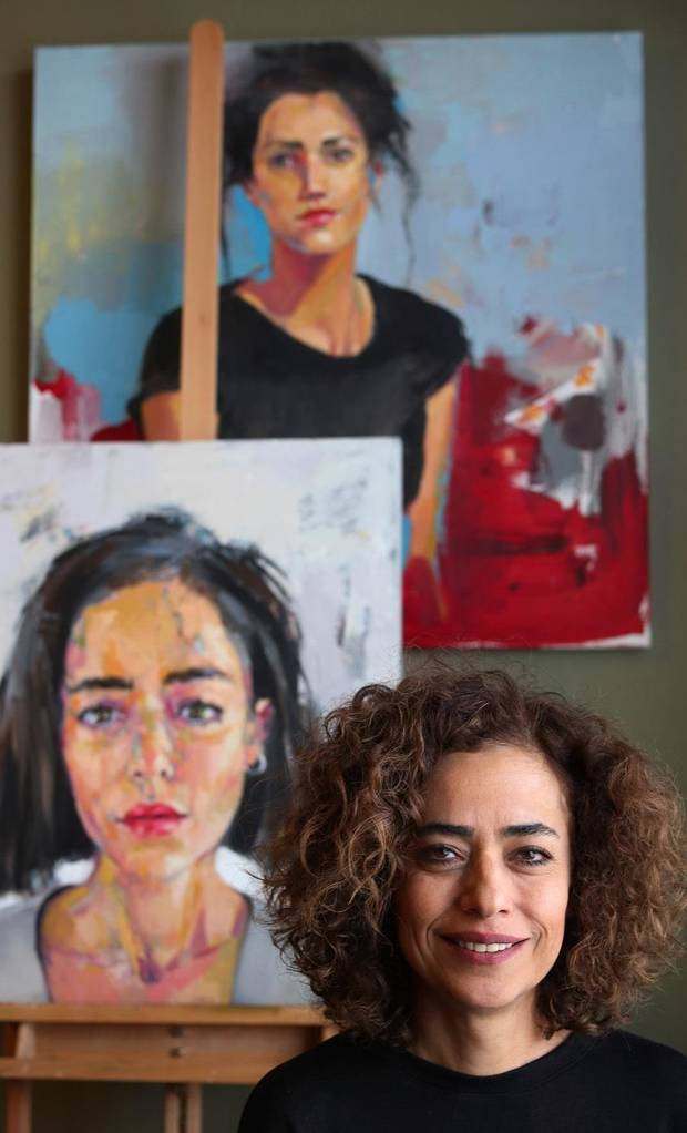 Edmond painter Behnaz Sohrabian proud to be an Iranian-American artist