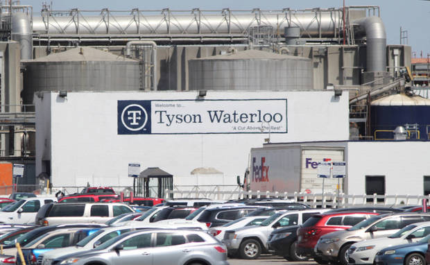 Officials implore Tyson to close plant amid virus outbreak