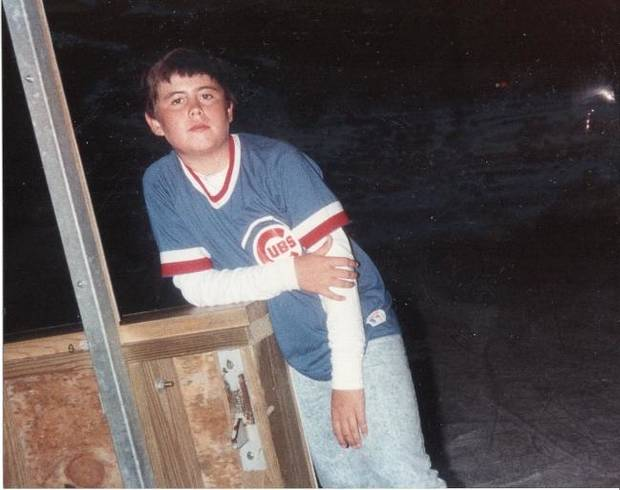 Ryan Aber: Playing baseball in the front yard, watching the Cubs on WGN fueled love of sports
