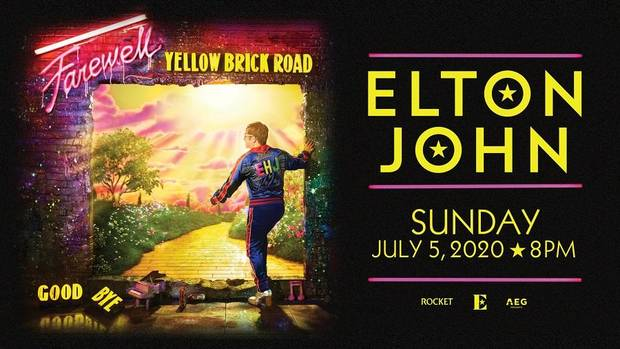 Elton John will play a 2020 OKC show on his farewell tour. [Poster provided]