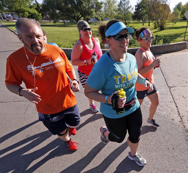 BEGIN WITH A SINGLE STEP: Bettina Horton's half marathon journey is much longer than 13.1 miles