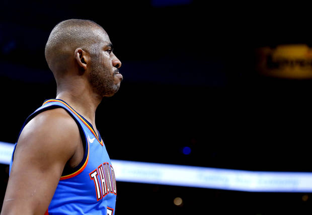 Thunder: Adam Silver consulted Chris Paul on day of Kobe Bryant's death