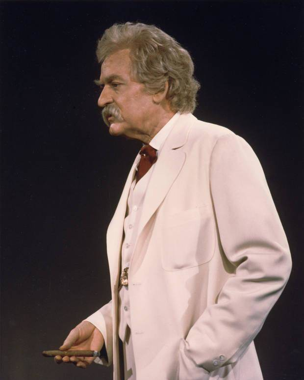 "Legendary actor Hal Holbrook began performing his long-running, Tony-winning one-man show ""Mark Twain Tonight!"" in 1954. Photo provided"