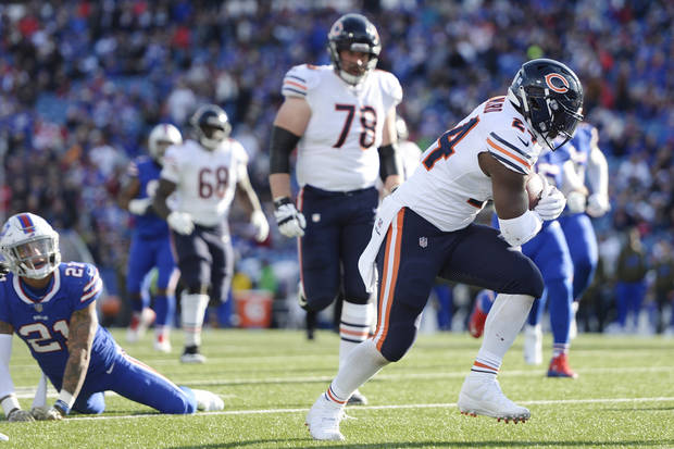Chicago Bears rout turnover-prone Buffalo Bills 41-9