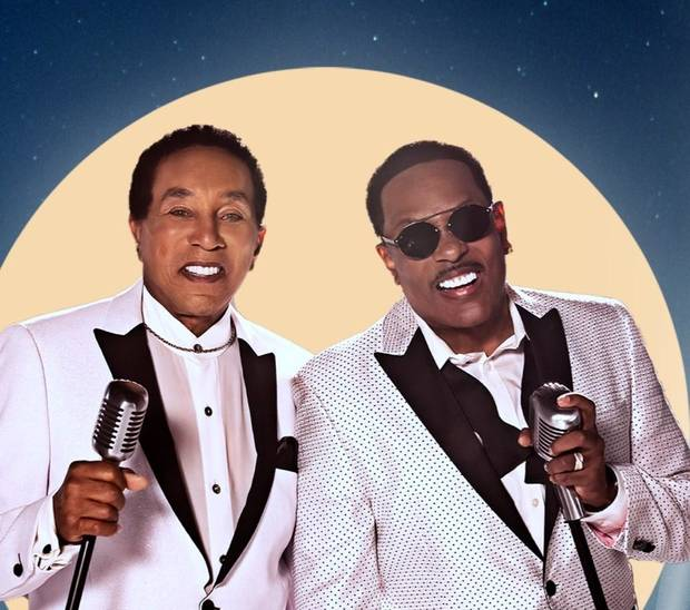Smokey Robinson, left, and Charlie Wilson [Photo provided]