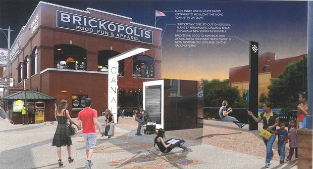 New entryway aims to make Bricktown Canal easier to find in downtown Oklahoma City