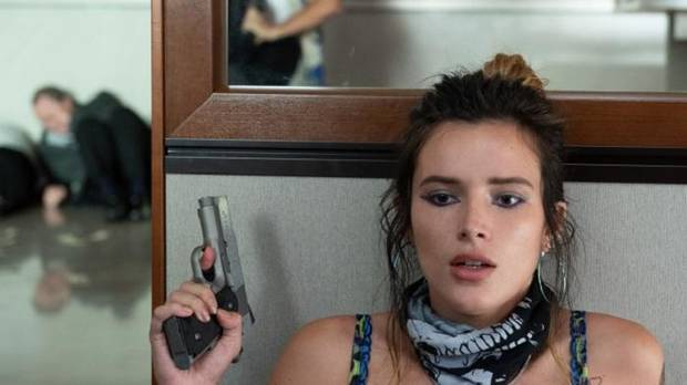 "Bella Thorne stars in ""Infamous."" [Vertical Entertainment photo]"