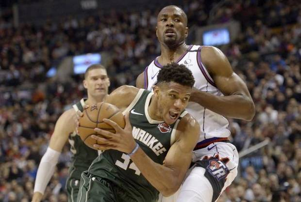 NBA Notebook: Bucks down Raptors in matchup of Eastern Conference powers