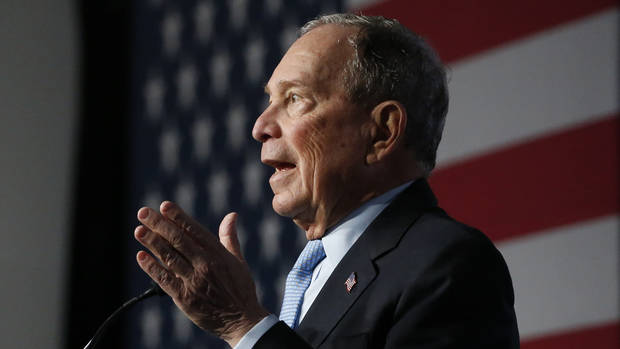 The Latest: Bloomberg set to speak at AIPAC conference