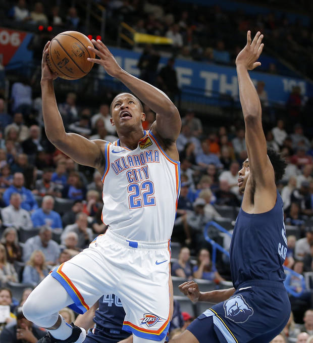 Thunder waives former second-round pick Devon Hall, signs Kevin Hervey