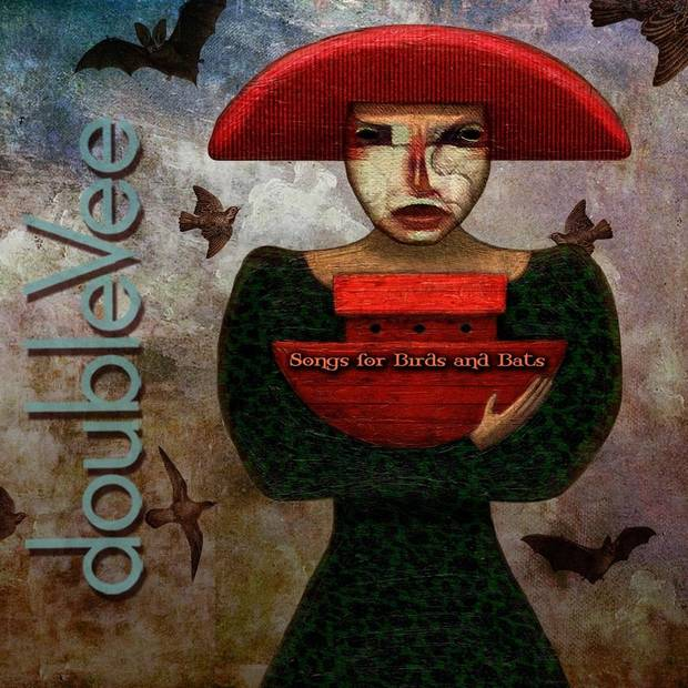 "doubleVee is releasing its new EP ""Songs for Birds and Bats"" on April 12. Cover art provided"