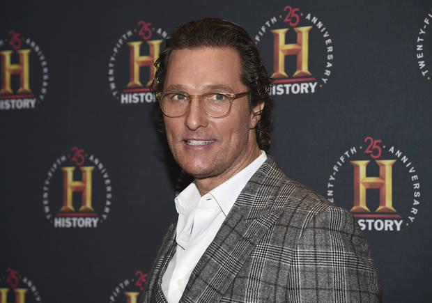 McConaughey says stay home now, great things may lie ahead