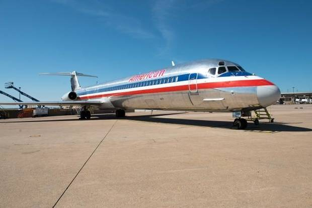 American Airlines donates passenger jet to Oklahoma students
