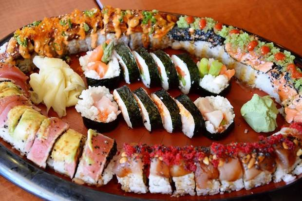 Okcs Top Five Spots For Sushi