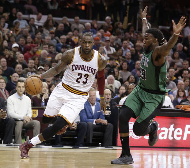 LeBron James, Kevin Love help Cavaliers crush Celtics in Game 1