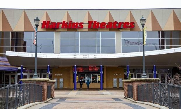 Harkins Bricktown 16 is shown in Oklahoma City, Okla. on Monday, March 16, 2020. [Chris Landsberger/The Oklahoman Archives]