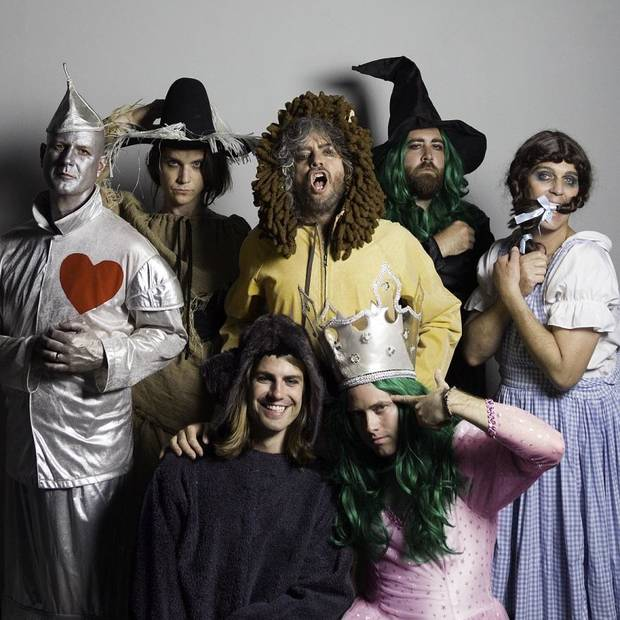 The Flaming Lips. Photo by George Salisbury