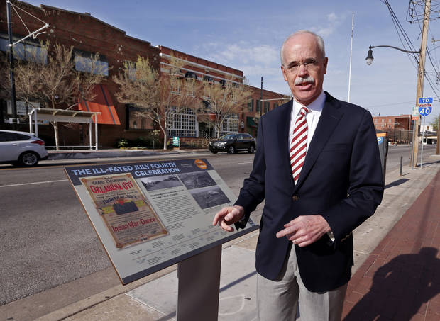Along the '89er Trail: Markers share the story of Oklahoma City's early days
