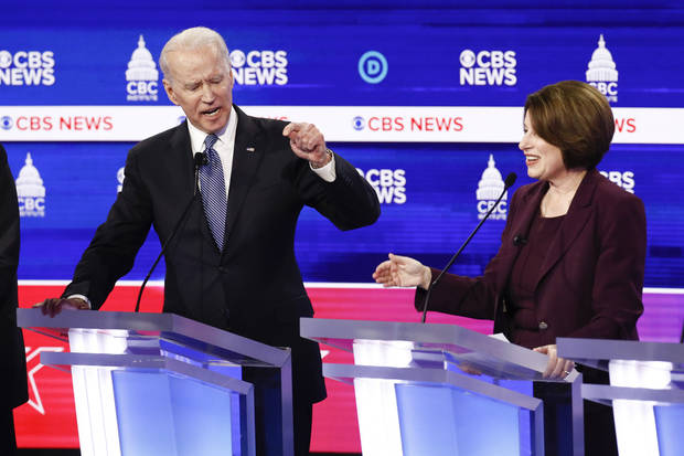 The Latest: Biden says he can best appeal to black voters