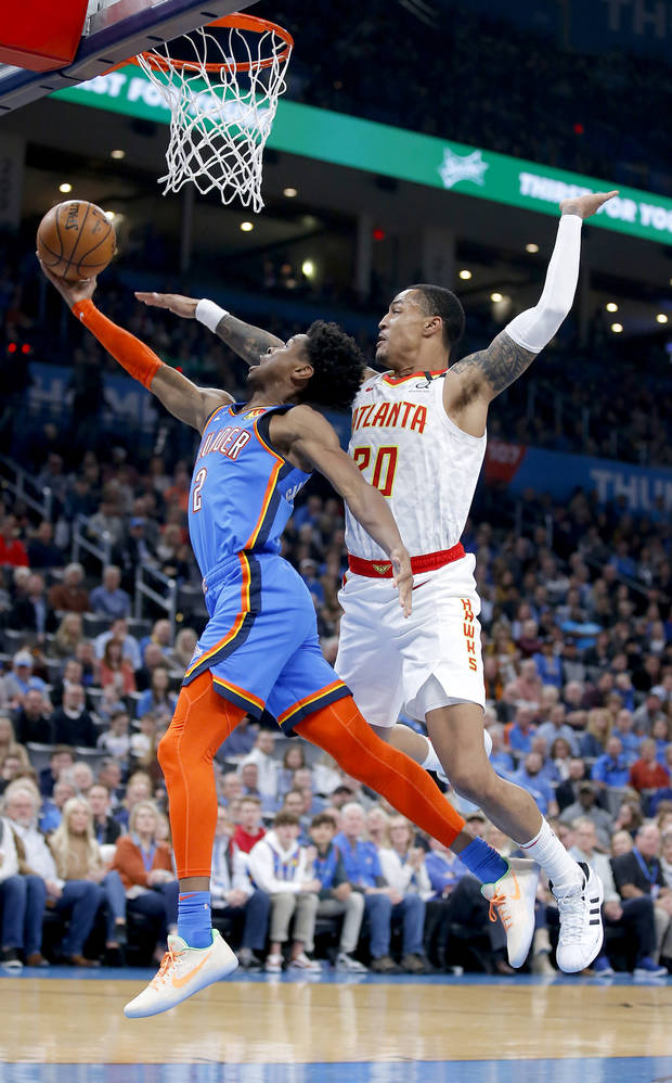 Five takeaways from the Thunder's 140-111 win against the Hawks