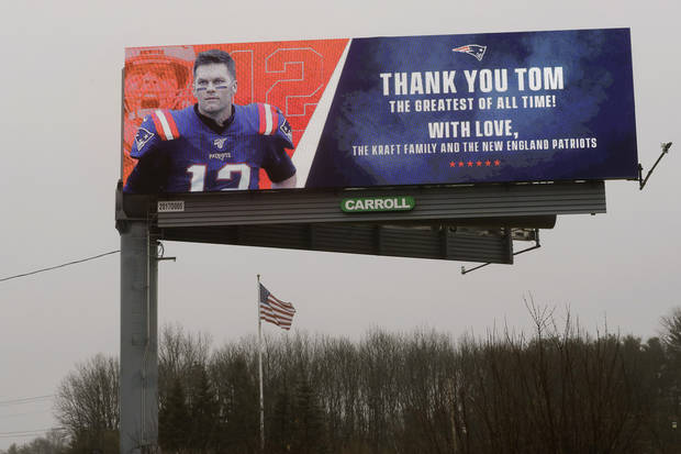 'New football journey': Tom Brady signs with Buccaneers