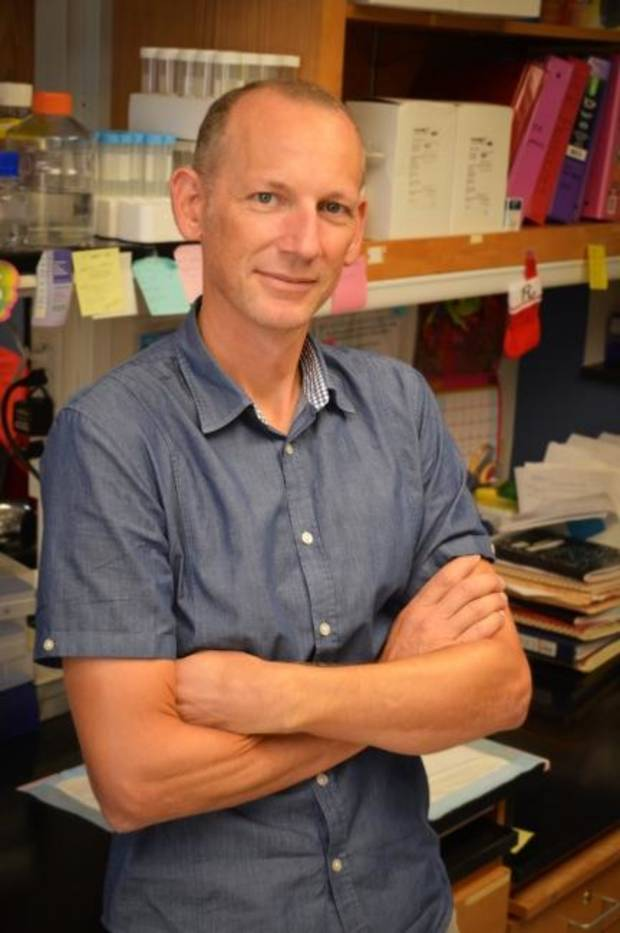 While an OMRF scientist is enjoying his new 'co-workers,' he admits he's ready to get back in the lab