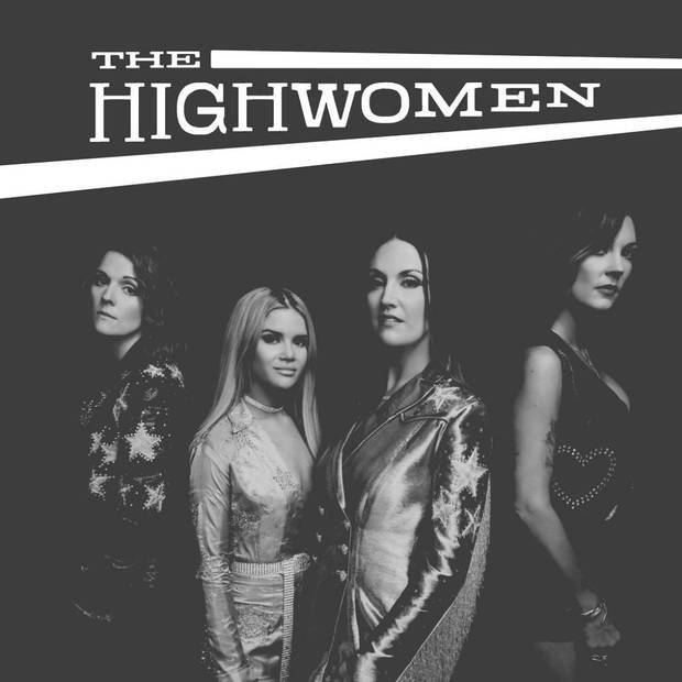 The Highwomen – three-time Grammy Award winner Brandi Carlile, Grammy-nominated singer-songwriter Natalie Hemby, country-rock singer, songwriter and violinist Amanda Shires and Grammy-winning country-pop star Maren Morris – released their self-titled debut album, produced by Dave Cobb, Sept. 6 on Low Country Sound/Elektra Records. [Album cover art provided]