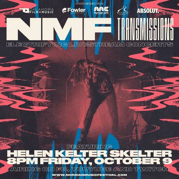 The Norman Music Festival's new live-stream series, NMF Transmissions, will launch its new live-stream concert series this weekend. [Poster image provided]