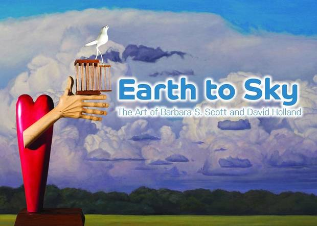 "The Oklahoma Hall of Fame at the Gaylord-Pickens Museum will reopen with the new exhibit ""From Earth to Sky: The Art of Barbara S. Scott & David Holland,"" on view through Sept. 10 in the Tulsa World 