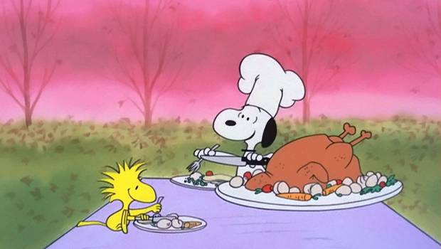 "Snoopy and Woodstock appear in 1973's ""A Charlie Brown Christmas."" [CBS photo]"