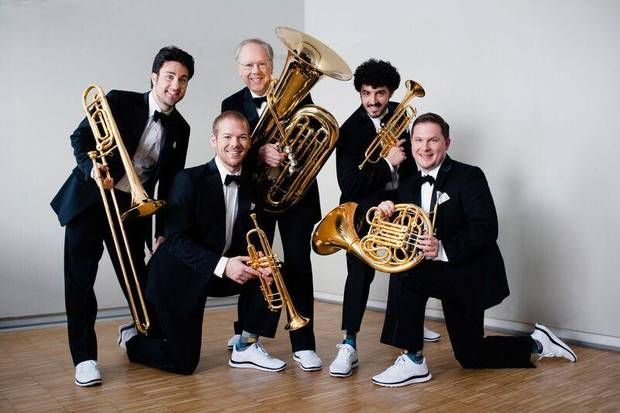 Canadian Brass. Photo provided