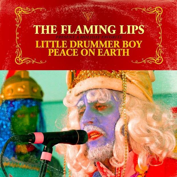 Listen: Flaming Lips release Christmas medley of 'Peace on Earth'  and 'Little Drummer Boy'
