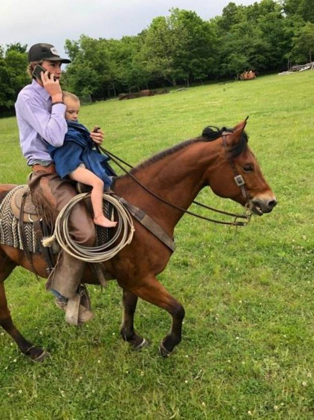 Best-case scenario<br/>What's life been like for horseback-riding teen since finding missing child?