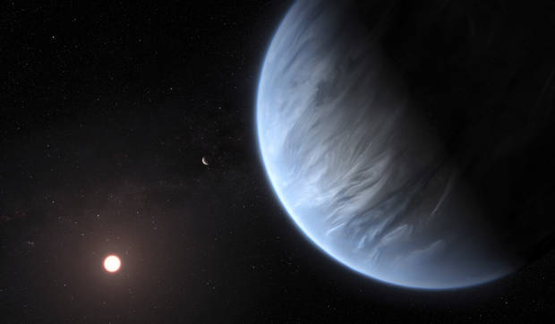 Water temperature right for life at another star s planet