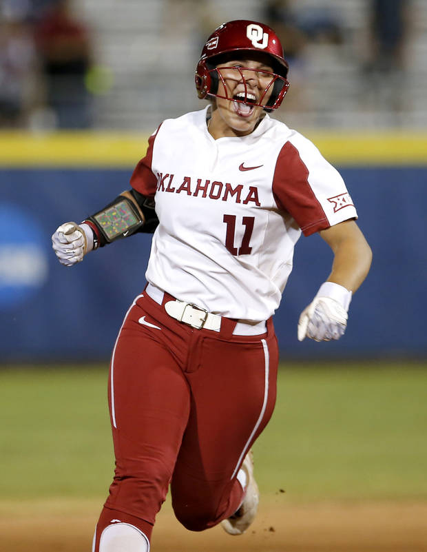 OU softball: Nicole Mendes makes first appearance of season after ACL tear