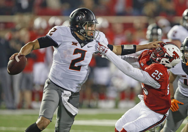 Oklahoma State Outguns Texas Tech in High-Scoring Game