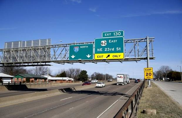 Options for widening I-35 in OKC unveiled