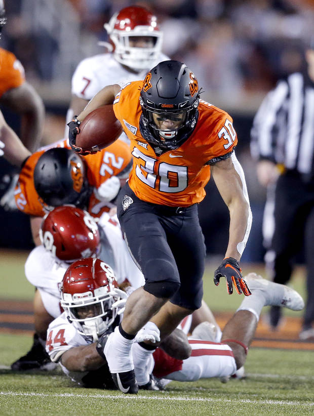 OSU football: Chuba Hubbard named Big 12 Offensive Player of the Year, other Cowboys honored