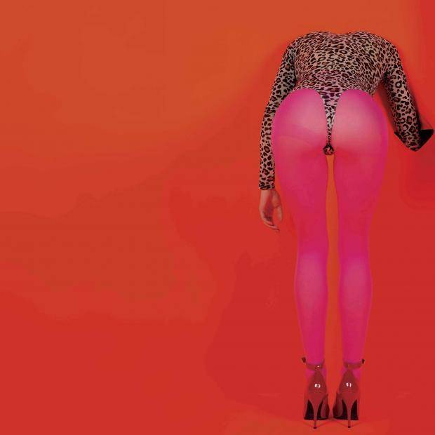 "Tulsa-born singer, songwriter and guitarist St. Vincent released her fifth album, ""Masseduction,"" in 2017. It became her first Top 10 album on the Billboard 200 chart. Album cover art provided"