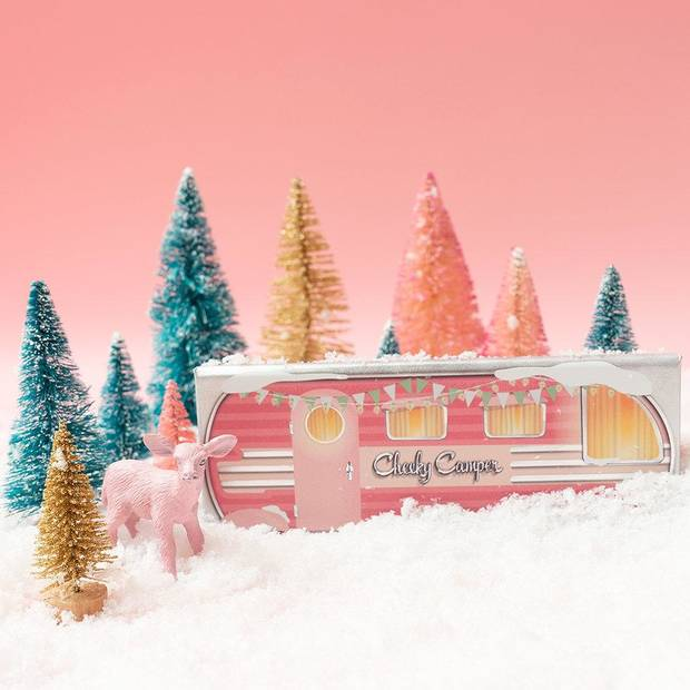 Benefit Cheeky Camper limited-edition holiday gift set.