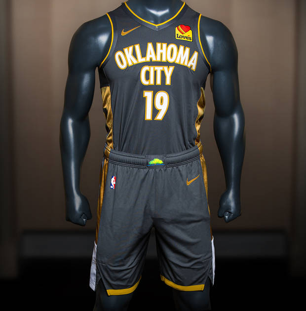 official photos 6ea9f d743a Thunder releases 'City' uniforms honoring those impacted by ...
