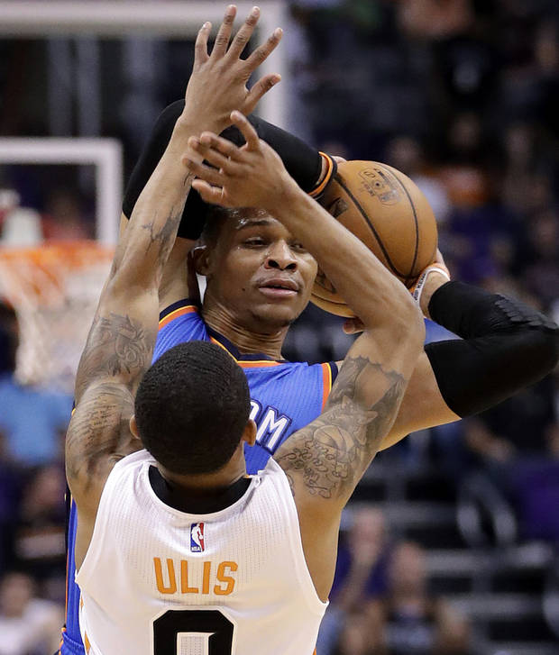 Russell Westbrook's 42nd Triple-Double Sets NBA Single-Season Record
